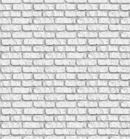 White brickwall seamless background - texture pattern for continuous replicate. See more seamless backgrounds in my portfolio.