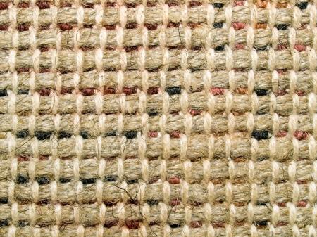 Burlap texture closeup background.
