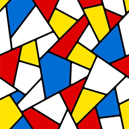 Ilustración de Seamless mosaic pattern. - Imagen libre de derechos