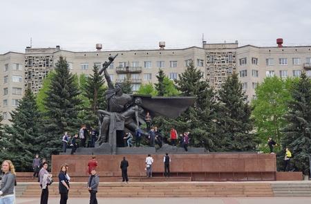 Monument Kostroma wars, veterans of the Great Patriotic War