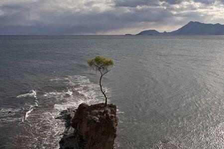 Turkey. The  Mediterranean Sea.