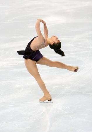American figure skater Beatrisa LIANG during the Ladies short skating event of the Eric Bompard Figure Skating trophy on November 14, 2008 at the Palais-Omnisports de Paris-Bercy, France. This is Beatrisa's short program as of season 2008/2009.
