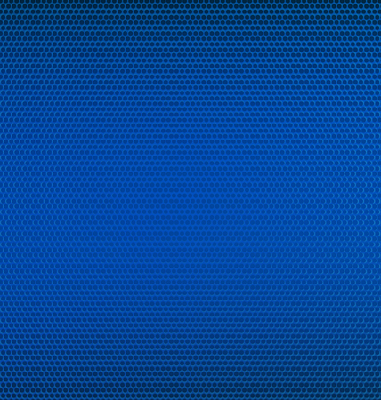 Blue Metal Mesh Textured Background