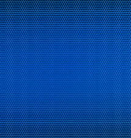 Blue Metal Mesh Textured Background
