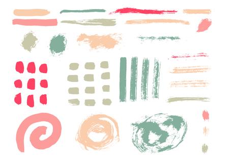 Ilustración de Grunge Brush Stroke . - Imagen libre de derechos