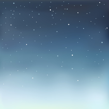 Ilustración de Vector illustration in eps 10 format of a starry sky. - Imagen libre de derechos