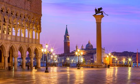 Photo for San Marco square at sunrise. Venice, Italy - Royalty Free Image