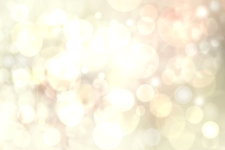 Photo for Happy holiday backgrounds. Abstract cute festive light golden yellow bokeh background texture with defocused lights. Christmas lights, blurry lights, glitter sparkle. Beautiful texture. - Royalty Free Image
