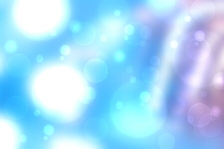Photo pour Rainbow background. Abstract fresh delicate pastel vivid colorful fantasy rainbow background texture with blue sunny sky and defocused bokeh lights. Beautiful light texture. - image libre de droit