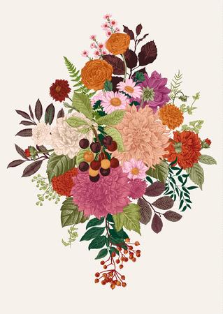 Ilustración de Floral vector illustration - Imagen libre de derechos
