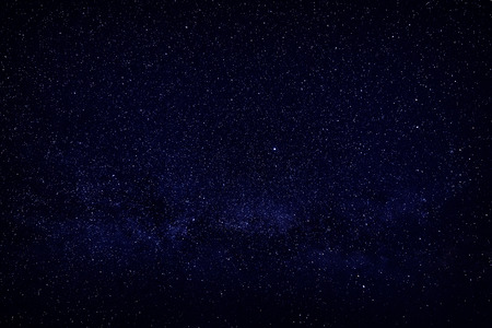 Photo pour Bright stars in the night sky, view of open space. - image libre de droit