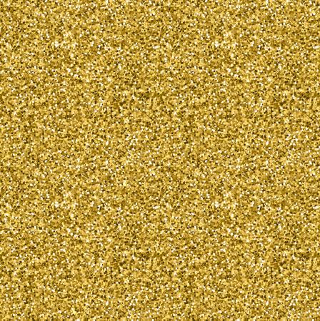Gold glitter seamless texture.