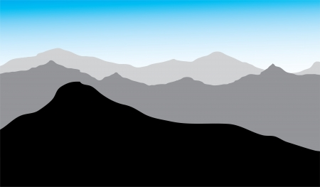view of the mountains,  drawing, you can use the background