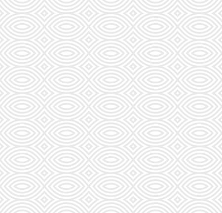Ilustración de Vector monochrome seamless pattern, black & white geometric endless repeat texture. Simple abstract mosaic background. Design element for prints, decoration, textile, fabric, digital, web, package - Imagen libre de derechos