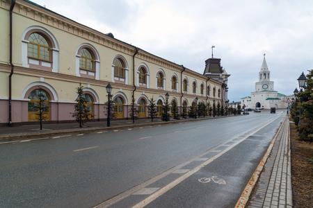 Kazan, Russia. Gostiny Dvor on the Kremlin street