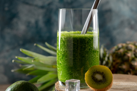Photo for Green detox smoothie - Royalty Free Image
