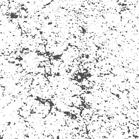 Illustration for Grunge Black and White Distress Texture - Royalty Free Image