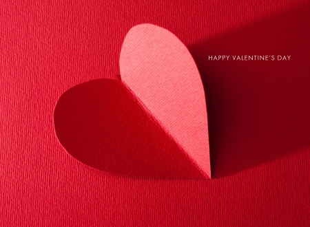 Holiday Card. Heart for Valentines day