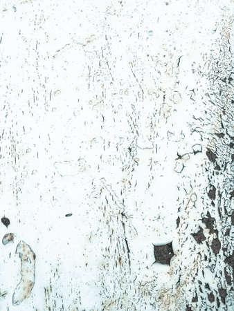 Foto de Zinc Metal Texture. Rusty Vintage Clouds Paintings. Aged Sea Card. Background Zinc Metal Texture. White Rust Blanket. Distressed Corroded Drawing. Iron - Imagen libre de derechos