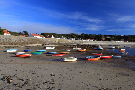 Rocquain Bay Channel Islands United kingdom Guernsey