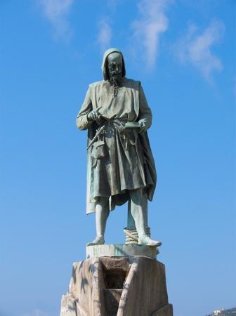 Amalfi the statue Flavio Gioia