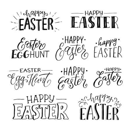 Illustration pour happy easter phrases - image libre de droit