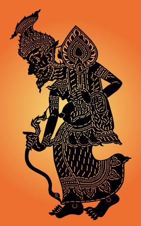 Hermit shadow puppet  Thai  Nang Talung  was one form of public entertainment in the south of Thailand