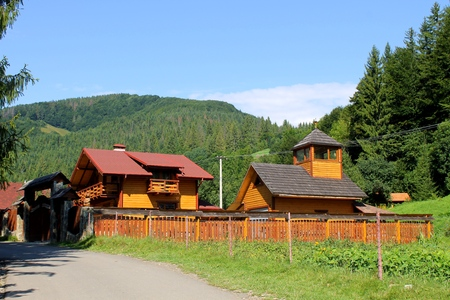 Village in Carpathians