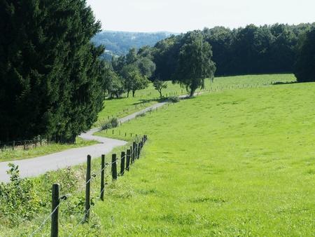 Landscape in Bergisches Land