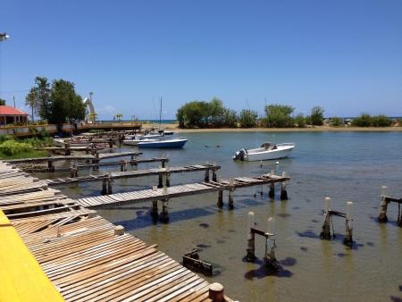 Pescadera en el pueblo de Arroyo Puerto Rico
