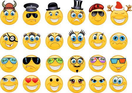Illustration pour Emoticon - image libre de droit