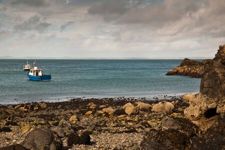 The small bay at Martin's Haven, Pembrokeshire, West Wales.