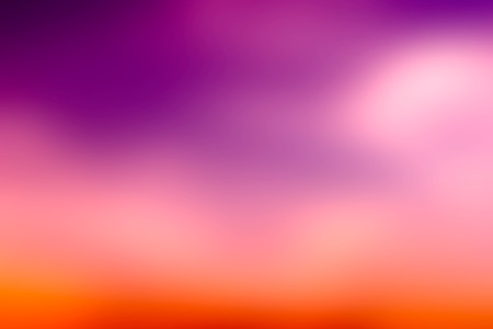 Orange and purple Blur color abstract background