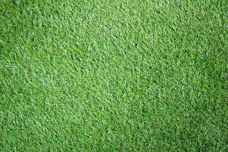 Close up Green artificial grass textures background
