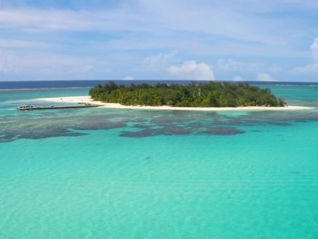 Photo for Beathtaking view of Managaha Islands, Saipan, Northern Mariana Islands - Royalty Free Image