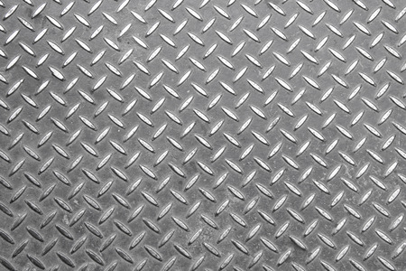 Photo for Walk Way steel diamond plate texture - Royalty Free Image