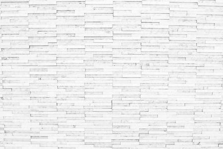 Photo pour white brick wall texture background of modern style design decorative uneven . - image libre de droit