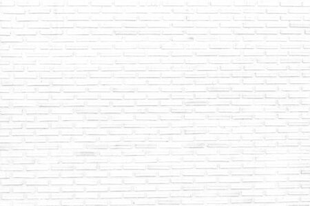 Photo for white brick wall texture background of modern style design decorative uneven . - Royalty Free Image