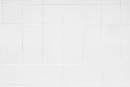 Photo for White ceramic wall tiles texture for the decoration of the bedroom. - Royalty Free Image