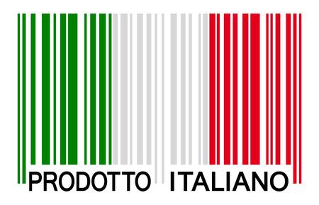bar code Italy - prodotto italiano
