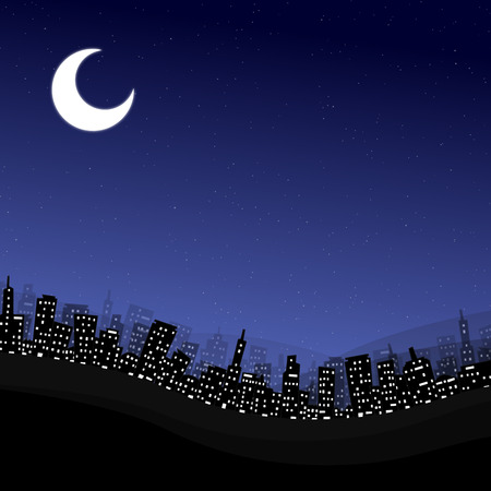 earth at night background