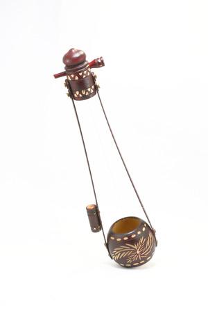 Traditional sub content single string musical instrument Ektara Aktara