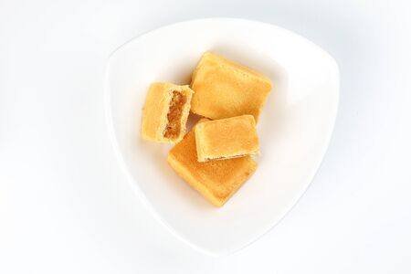 Photo for Chinese Taiwanese style cake stuffed with pineapple feeling - Royalty Free Image