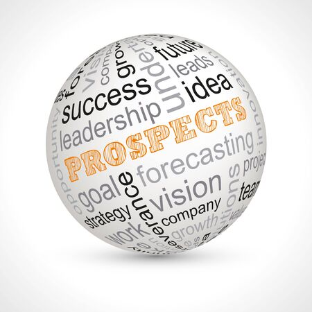 Prospects theme sphere with keywords full
