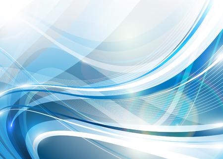 Illustration pour Blue abstraction - image libre de droit