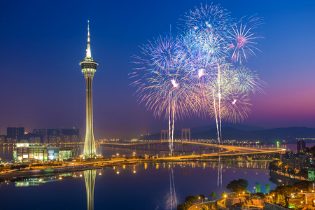 Macau Fireworks China
