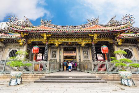 Longshan Temple in Taipei, Taiwan.