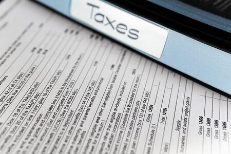 Photo pour New Canada Revenue Agency Tax Forms - image libre de droit