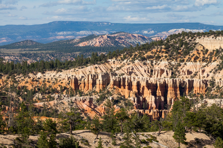 Views of the hiking trails in Bryce Canyon National Park, Utah