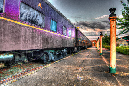 HDR Train and Posts